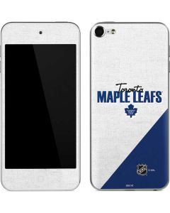 Toronto Maple Leafs Script Apple iPod Skin