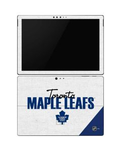 Toronto Maple Leafs Script Surface Pro 6 Skin