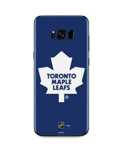Toronto Maple Leafs Solid Background Galaxy S8 Skin