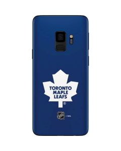Toronto Maple Leafs Solid Background Galaxy S9 Skin