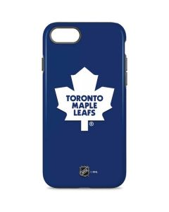 Toronto Maple Leafs Solid Background iPhone 8 Pro Case