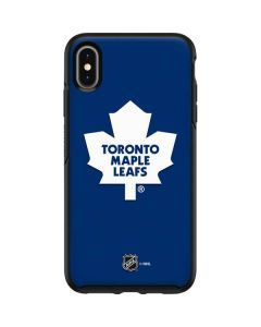 Toronto Maple Leafs Solid Background Otterbox Symmetry iPhone Skin