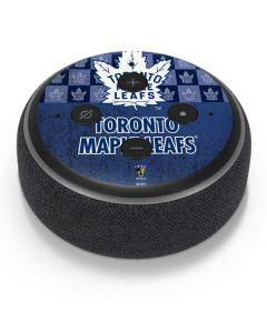 Toronto Maple Leafs Vintage Amazon Echo Dot Skin