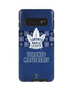 Toronto Maple Leafs Vintage Galaxy S10 Pro Case