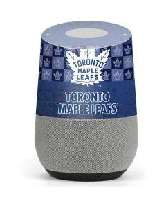 Toronto Maple Leafs Vintage Google Home Skin