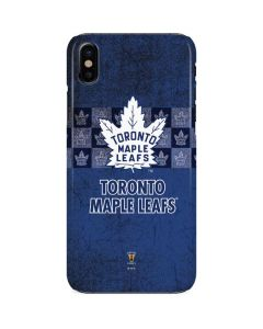 Toronto Maple Leafs Vintage iPhone X Lite Case