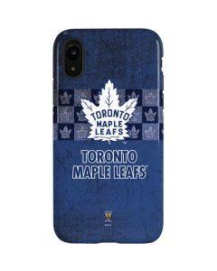 Toronto Maple Leafs Vintage iPhone XR Pro Case