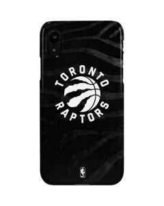 Toronto Raptors Animal Print iPhone XR Lite Case