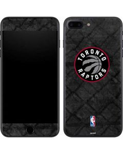 Toronto Raptors Black Rust iPhone 8 Plus Skin
