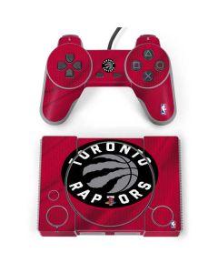 Toronto Raptors Logo PlayStation Classic Bundle Skin