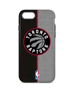 Toronto Raptors Split Canvas iPhone 7 Pro Case