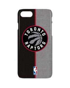 Toronto Raptors Split Canvas iPhone 8 Lite Case