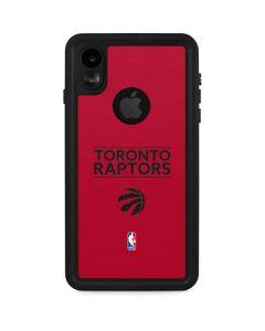 Toronto Raptors Standard - Red iPhone XR Waterproof Case