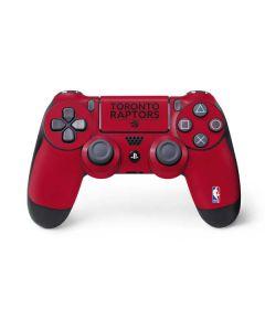 Toronto Raptors Standard - Red PS4 Controller Skin