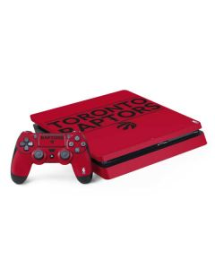 Toronto Raptors Standard - Red PS4 Slim Bundle Skin