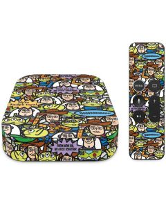 Toy Story Characters Apple TV Skin