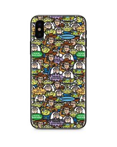 Toy Story Characters iPhone X Skin