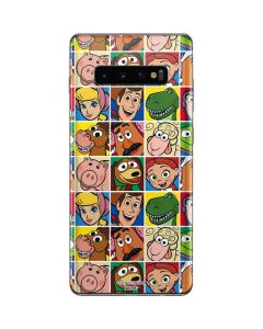 Toy Story Collage Galaxy S10 Plus Skin