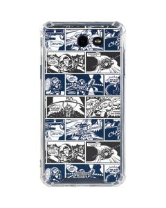 Toy Story Comic Strip Galaxy J7 (2017) Clear Case