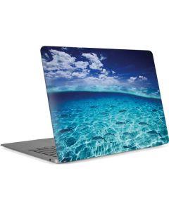 Transparent School of Fish Apple MacBook Air Skin
