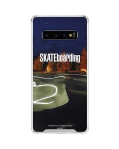 TransWorld Luminescent Skate Park Lights Galaxy S10 Clear Case