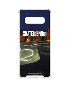 TransWorld Luminescent Skate Park Lights Galaxy S10 Plus Clear Case