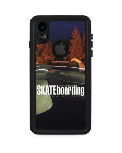 TransWorld Luminescent Skate Park Lights iPhone XR Waterproof Case