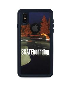 TransWorld Luminescent Skate Park Lights iPhone XS Waterproof Case