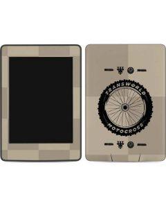 TransWorld Motocross Checkered Pattern Amazon Kindle Skin