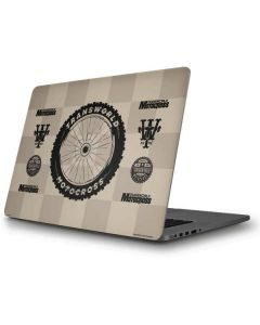 TransWorld Motocross Checkered Pattern Apple MacBook Pro Skin