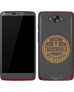 TransWorld Motocross Established 2000 Motorola Droid Skin