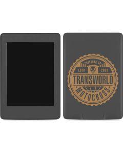 TransWorld Motocross Established 2000 Amazon Kindle Skin