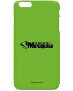 TransWorld Motocross Green Logo iPhone 6/6s Plus Lite Case