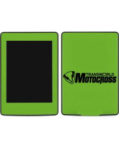 TransWorld Motocross Green Logo Amazon Kindle Skin