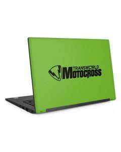 TransWorld Motocross Green Logo Dell Latitude Skin