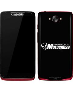 TransWorld Motocross Logo Motorola Droid Skin