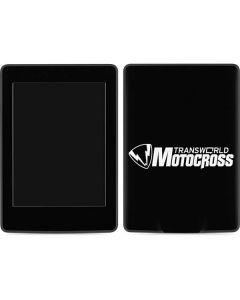 TransWorld Motocross Logo Amazon Kindle Skin