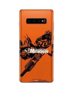 TransWorld Motocross Magazine Galaxy S10 Plus Skin