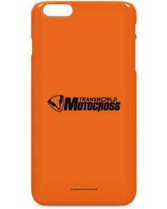 TransWorld Motocross Orange Logo iPhone 6/6s Plus Lite Case