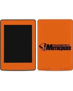 TransWorld Motocross Orange Logo Amazon Kindle Skin