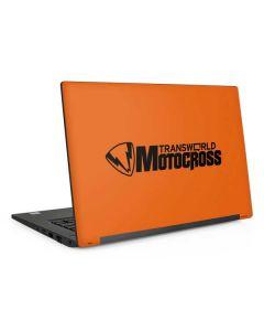 TransWorld Motocross Orange Logo Dell Latitude Skin