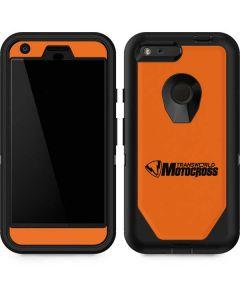 TransWorld Motocross Orange Logo Otterbox Defender Pixel Skin
