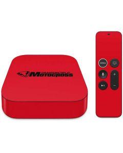 TransWorld Motocross Red Logo Apple TV Skin