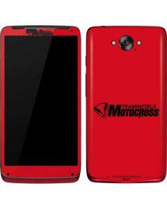 TransWorld Motocross Red Logo Motorola Droid Skin