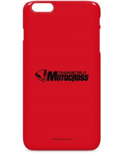 TransWorld Motocross Red Logo iPhone 6/6s Plus Lite Case