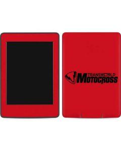 TransWorld Motocross Red Logo Amazon Kindle Skin