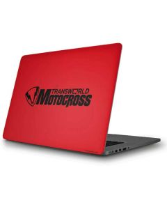 TransWorld Motocross Red Logo Apple MacBook Pro Skin