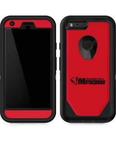 TransWorld Motocross Red Logo Otterbox Defender Pixel Skin