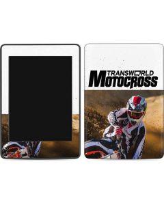 TransWorld Motocross Rider Amazon Kindle Skin