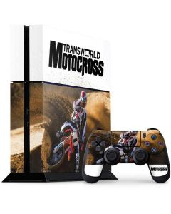 TransWorld Motocross Rider PS4 Console and Controller Bundle Skin